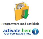 Programvara med ett klick