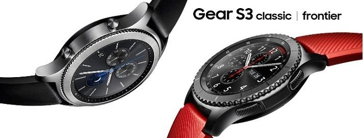 Samsung Gear S3 Classis & Frontier